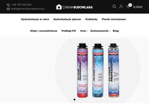 Hydroizolacje dach贸w - chemiabudowlana.eu