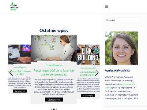 Blog o content marketingu