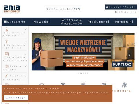 Lampy, żyrandole i oświetlenie LED, kable i przewody, gniazdka - Elektromarketania.pl