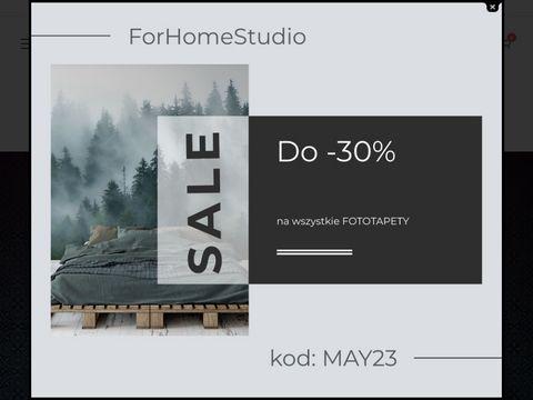 ForHomeStudio - wyjątkowe tapety i dekoracje dla domu