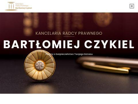Kancelaria prawna - kancelaria-czykiel.pl