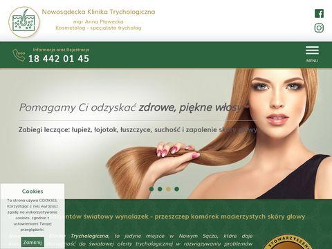Trycholog Nowy S膮cz - klinika-trychologiczna.pl