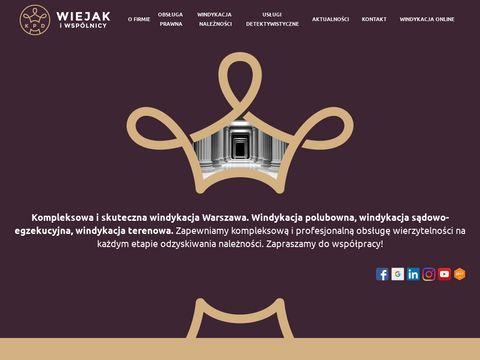 Windykacja Warszawa - KPD Wiejak - windykacja długów