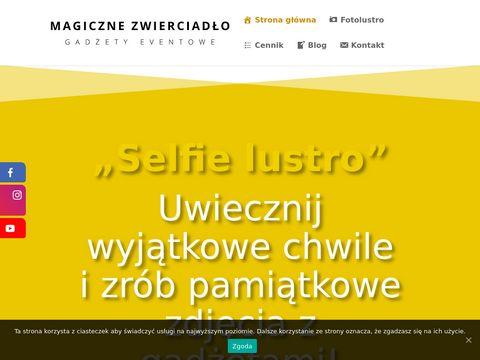 Fotobudka Warszawa - Magiczne Zwierciadło