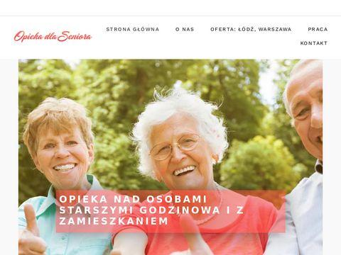 Opieka nad osobą starszą �ódź - Opieka domowa �ódź