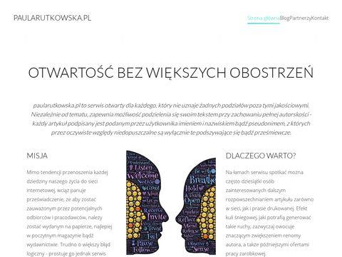 Paula Rutkowska blog