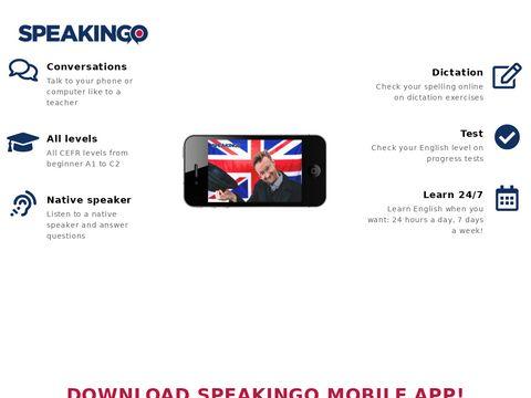 Speakingo - kurs jÄ™zyka angielskiego online