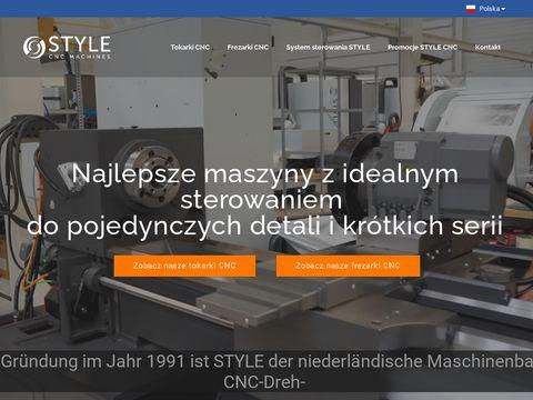 Stylecncmachines.pl - obrabiarki cnc