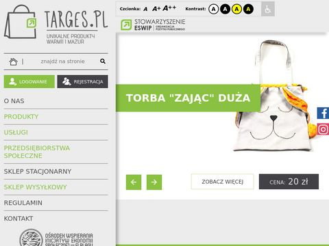 Targes.pl - platforma sprzeda偶y produkt贸w regionalnych