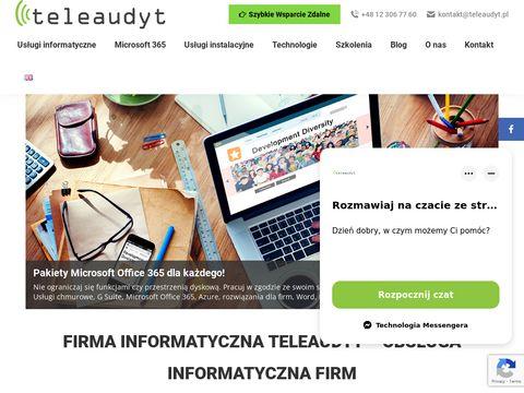 Obsługa informatyczna firm, wdrożenie Office 365