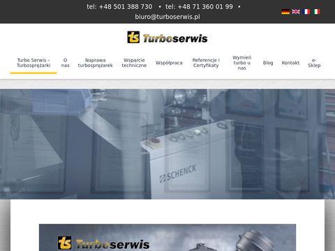Regeneracja turbosprężarek - Truboserwis