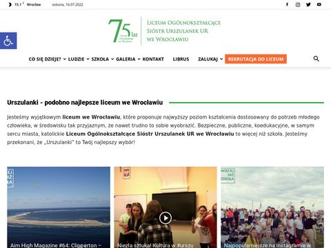 Urszulanki - Liceum we Wrocławiu