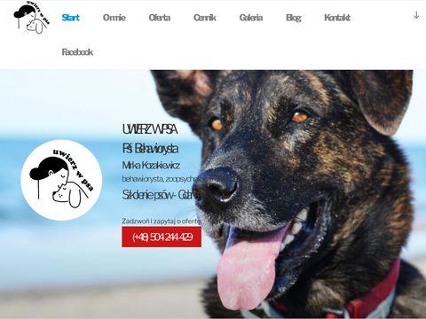 Uwierz w psa - szkolenie psów, behawiorysta, zoopsycholog