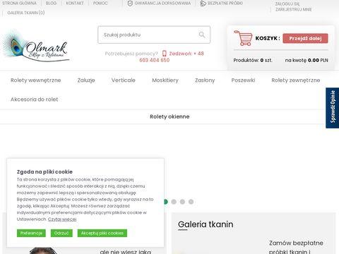 Rolety sklep internetowy Wystrój Okien!