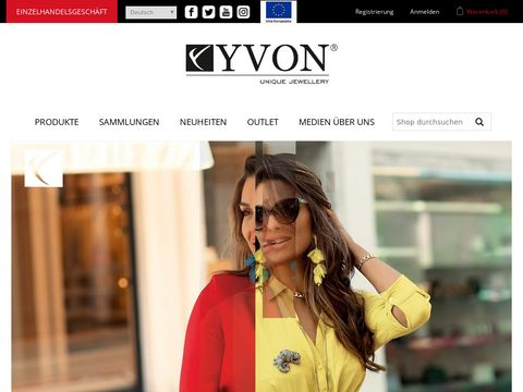 Biżuteria sztuczna - Sklep z biżuterią YVON