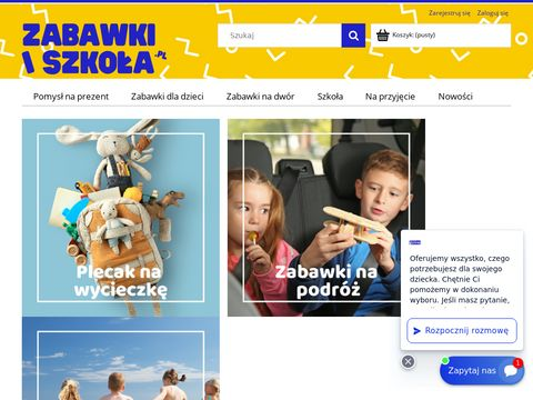 Sklep z zabawkami i artykułami do szkoły - Zabawki i Szkoła