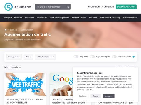 envoyer 1000 visiteurs Suisses sur votre site internet