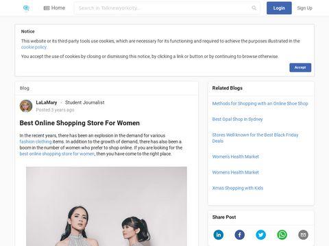 Best Online Shopping Store For Women