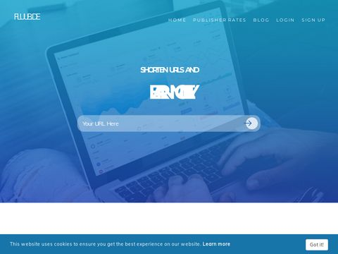 Shorten URLs and earn money