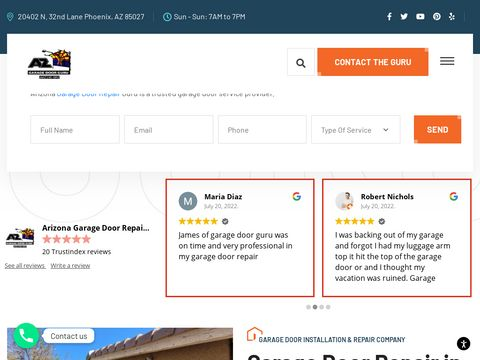 Best Garage Door Company in Glendale Arizona
