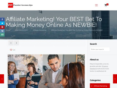 Affiliate Marketing! Your BEST Bet To Making Money Online As NEWBIE!