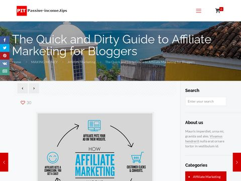The Quick and Dirty Guide to Affiliate Marketing for Bloggers