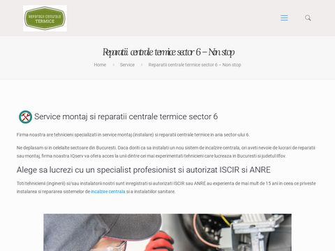 Reparatii centrale termice sector 5