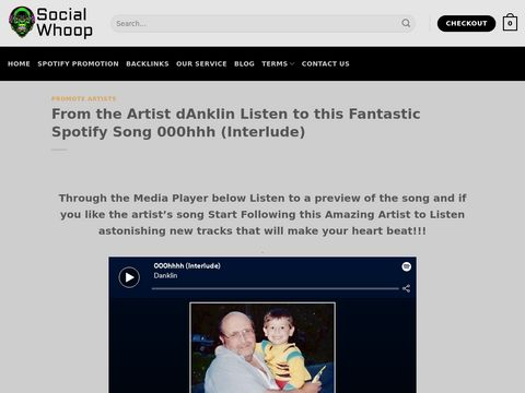 From the Artist dAnklin Listen to this Fantastic Spotify Song 000hhh (Interlude)