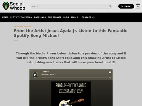 From the Artist Jesus Ayala Jr. Listen to this Fantastic Spotify Song Michael
