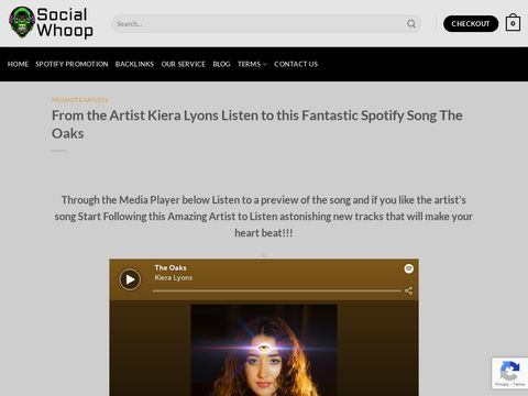 From the Artist Kiera Lyons Listen to this Fantastic Spotify Song The Oaks