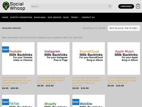 12 million of Backlinks for Spotify Album – Fast SEO Index