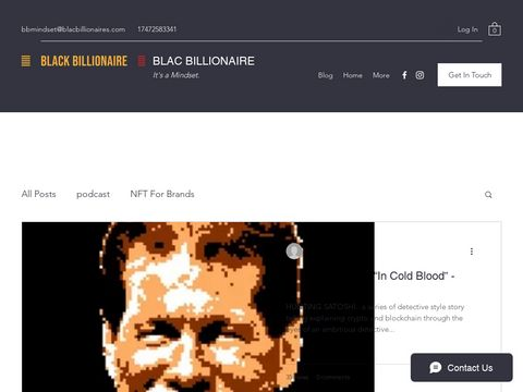 Blac Billionaire sells clothing and accessories. We sell woman, men, and baby clothes.