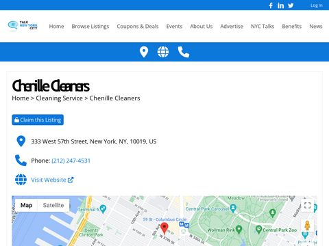 chenille cleaners nyc