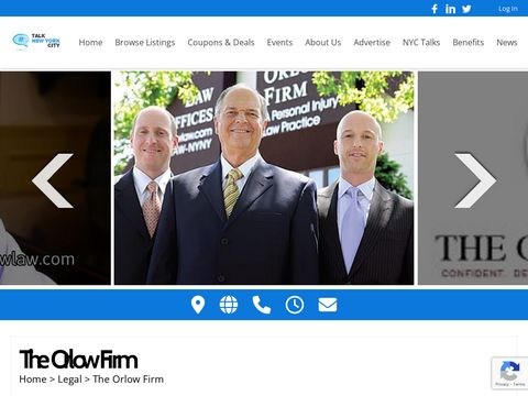 New York personal injury law firm New York City Personal Injury Lawyers