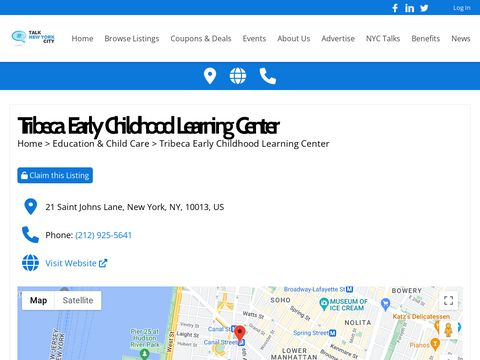 tribeca early childhood learning center