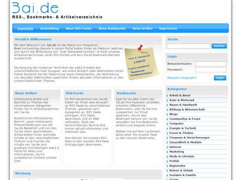 Bookmarks Online verwalten