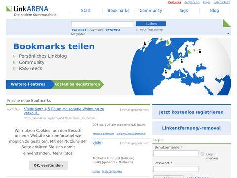Social Bookmarking - Links & Bookmarks sammeln