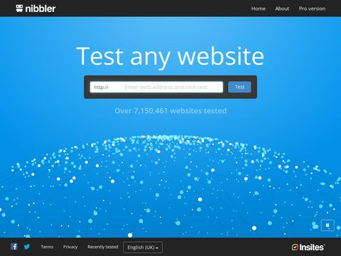 Nibbler - Teste jede Website