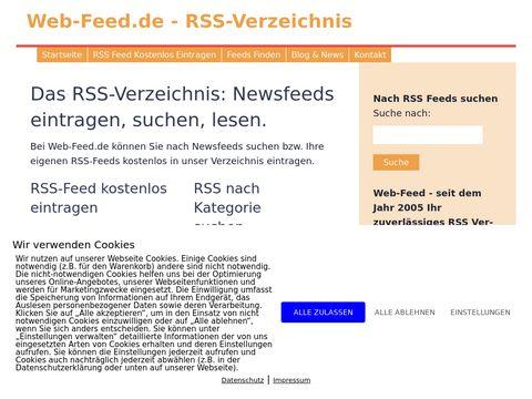 Web-Feed.de - RSS-Verzeichnis
