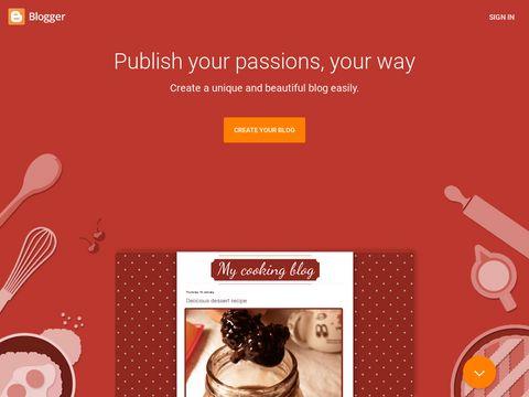 Blogger.com - Erstelle kostenlos deinen Blog