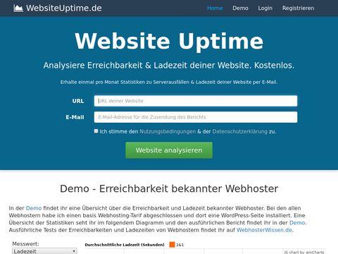 WebsiteUptime.de